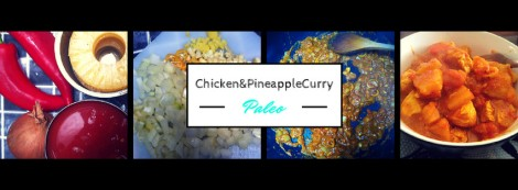 Quick, easy, low calorie Paleo Chicken & Pineapple Curry recipe.